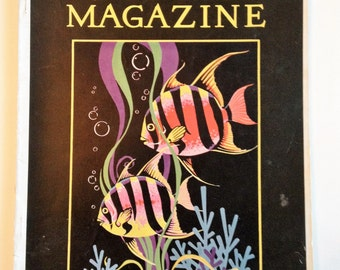 Nature Magazine FISH April Vol 17 No 4 1931 Vintage Nature Magazine