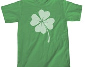 Retro Lucky Four Leaf Clover Men's T-shirt