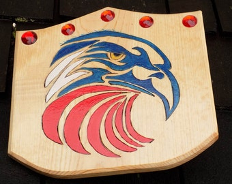 Regal Eagle Toy Wooden Shield