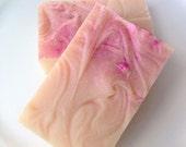 Pink Musk  goat milk soap