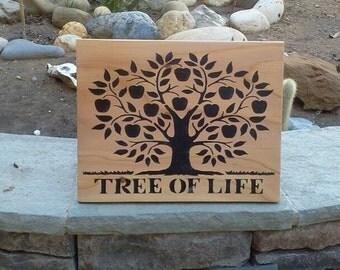 Tree of Life Plaque