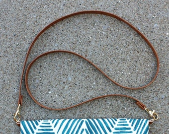ADD A CROSSBODY STRAP to any Foldover Clutch in my shop