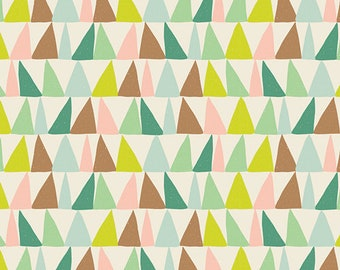Arboretum Dawn - Succulence - Art Gallery - Bonnie Christine - SCC-88602 - Cotton Quilting Fabric - Geometric Triangles Desert Southwest