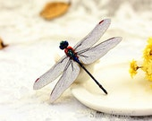4pcs Wooden Vintage Dragonfly Charms, Laser Cut Wood Retro Dragonfly  Pendants, Perfect for Brooch  - HW079P
