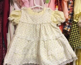 70s Apron Dress 9/12 Months