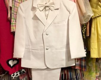 80s Boys Suit Size 3