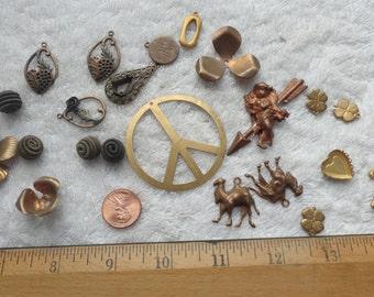 Assorted Vintage Findings, Destash Lot 15