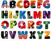 45% OFF SALE Superhero alphabet clipart - ABC Alphabet clip art - digital download - commercial use