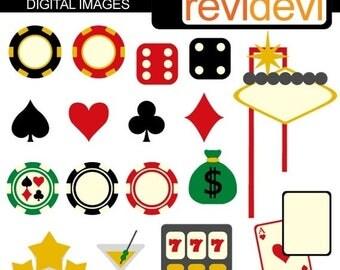 50% OFF SALE Viva Las Vegas 07293 - Digital Images - Commercial use clipart - Graphic design by revidevi