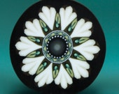 White Polymer Clay Flower Cane -'Oma's Garden' series (43A)