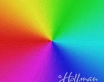 "Hoffman Spectrum digital print - 42"" panel"