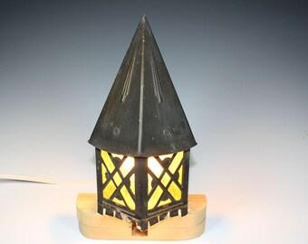 c.1950 Cottage Porch Light, Witches Hat