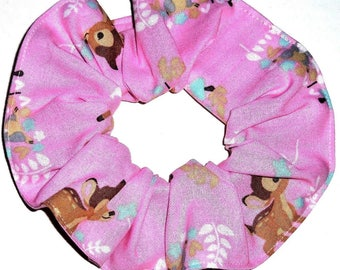 Disney Bambi Thumper Hair Scrunchie Scrunchies by Sherry Ponytail Holders Ties
