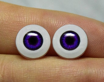 Doll eyes 10mm AD color GrapeMystique