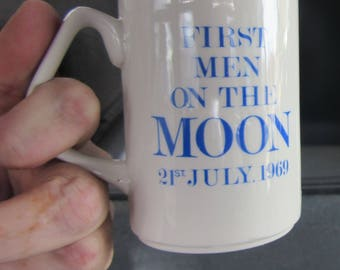 first men on the moon vintage mugs