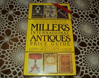 Vintage 1989 International Antiques Price Guide By Judith And Martin Miller