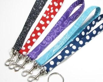Wristlet Strap, Key Chain Wristlet,  Purse Strap, Handbag Strap, Clutch Wristlet Strap, Cosmetic Bag Strap, Wallet Strap, Keys