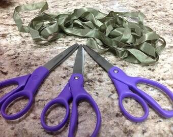Scissors, Sewing Scissors, Craft SCissors, Seamstress Scissors, 7 inch Scissors, Titanium Bonded Scissors, Comfort Handle Scissors