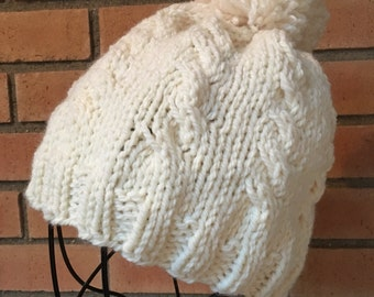 Cable Wool Hat