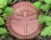 Dragonfly Stepping Stone (Terracotta)