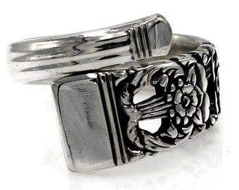 Demitasse Coronation Spoon Ring 1936