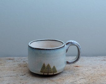 Pine Trees Espresso Cup