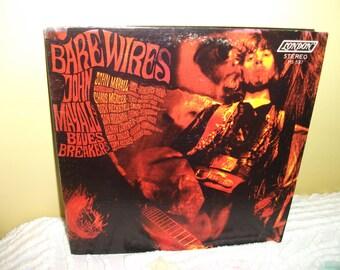 Barewires John Mayall Blues Breakers Vinyl Record Album NEAR MINT condition
