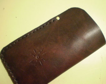 Dark Mahogany Eyeglass Case