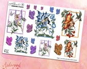 Amy Brown Springtime Planner Stickers and Washi Tape Set