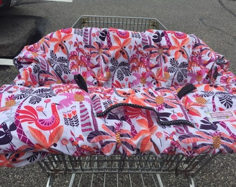 High Chair Cover Shopping Cart cover  for boy or girl..... Shake your Tail Feathers Tropical ...  michaelmooodesign