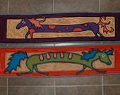 For Adrienne - Custom horse stair treads - Treads 9&10