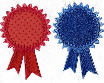 SIMPLE ROSETTES Machine embroidery Designs