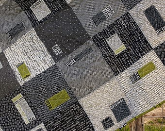 PRE-ORDER- Patched Quilt Kit (1/2 charged when ordering, 1/2 charged when shipped, please read full description)
