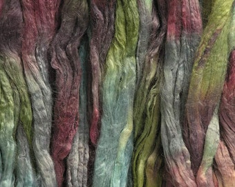 100g Space-dyed Soybean Tops - Lichen