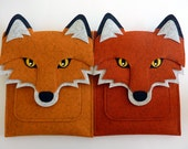 Fox Surface Pro 4, 3, 2 case // Felt tablet bag