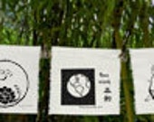 "Special order 9 group ""Prayers for the Earth"" flags"
