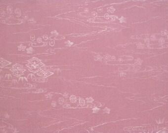 Vintage haori S381, pale purple silk,