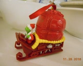 Vintage Dr Seuss How The Grinch Stole Christmas Ornament
