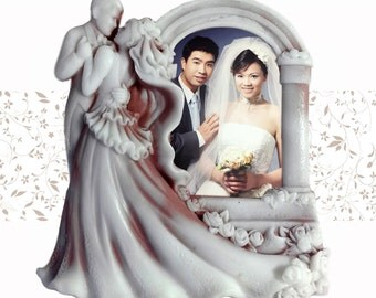 Wedding Photo Frame - 2d handmade custom soap