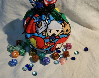 My Pretty Dice Bag - Chibi Avengers Edition