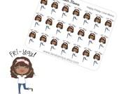 Planner Stickers Friyay Friday Momo Happy Friday Stickers