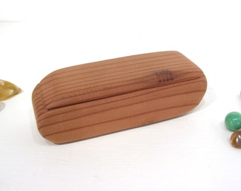 California Redwood Box, engagement ring box, ring bearer box, proposal box, earring box, eco gift box, guitar pick box, Valentines