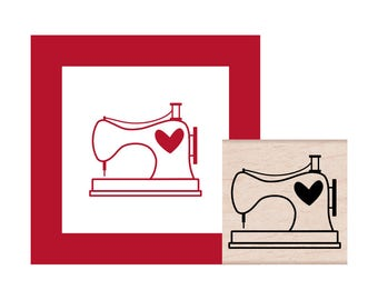 NEW for 2017 Sewing Machine Rubber Stamp