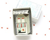 SALE- The Instant Comfort Pocket Box - little house - consolation gift - cheer up gift