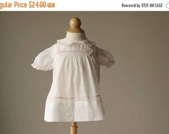 SPRING SALE 1940s Mitzi Spring Dress~Size 3 Months