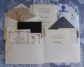 Letterpress Invitation Sampler, Letterpress Wedding Invitation Sampler, Letterpress Samples Package, Wedding Invitations, Wedding Samples