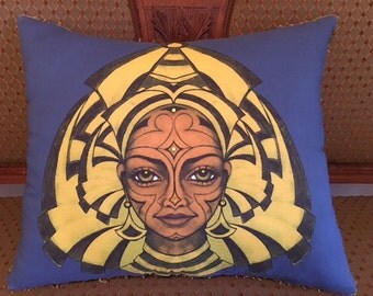 "Picture Perfect Pillows.  ""Kadara"".  Destiny. Crystal Embellished"