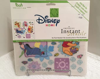 Disney's Winnie the Pooh, Stencils, Rub Ons, Disney Home Decor, No Paint Stencils, Kid Room Decoration, 3 Sheets, Cartoon Characters, Tigger