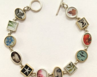 Photo Collage Bracelet