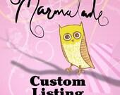 Custom Listing for Nance M.